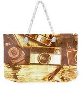 Retro Film Cameras Weekender Tote Bag