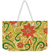 Retro Floral Seamless Pattern Weekender Tote Bag