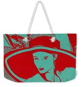 Retro Glam Weekender Tote Bag