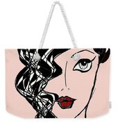 Retro Golden Age Weekender Tote Bag