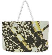 Retro Military Poster Art Weekender Tote Bag
