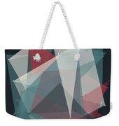 Retro Polygon Pattern Weekender Tote Bag