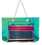 Retro Radio Weekender Tote Bag