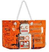 Retro Robotic Nostalgia Weekender Tote Bag