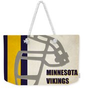 Retro Vikings Art Weekender Tote Bag