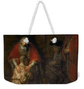 Return Of The Prodigal Son Weekender Tote Bag by Rembrandt Harmenszoon van Rijn