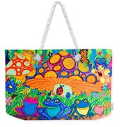 Return To Happy Frog Meadow Weekender Tote Bag