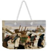Returning To The Reconquered Land Weekender Tote Bag