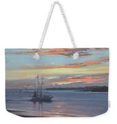 Returning With The Catch Weekender Tote Bag