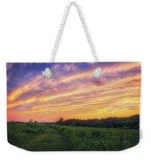 Retzer Nature Center - Summer Sunset #4  Weekender Tote Bag
