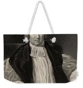 Rev Robert Gray 1762 To 1834 Bishop Of Weekender Tote Bag