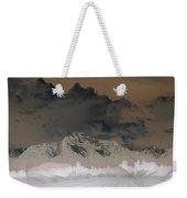 Reverse Landscape Weekender Tote Bag