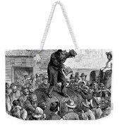 Revival Meeting Weekender Tote Bag