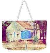 Revolutionary War Skirmish At Horn Creek Baptist Church Weekender Tote Bag