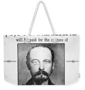 Reward Poster For Thomas Cole Younger Weekender Tote Bag