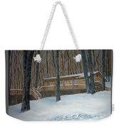 Rex Cabin Weekender Tote Bag