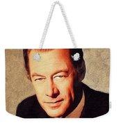 Rex Harrison, Vintage Actor Weekender Tote Bag