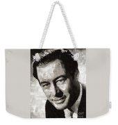 Rex Harrison, Vintage Hollywood Legend Weekender Tote Bag