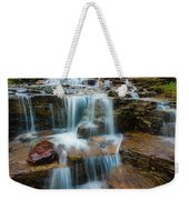 Reynolds Mountain Waterfall Weekender Tote Bag