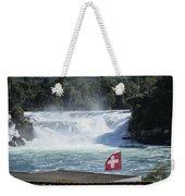 Rhine Falls In Switzerland Weekender Tote Bag