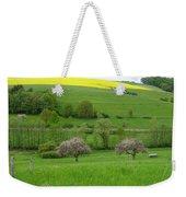 Rhineland-palatinate Summer Meadow With Cherry Trees Weekender Tote Bag