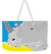 Rhino Drink. Weekender Tote Bag