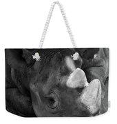 Rhino Nap Weekender Tote Bag