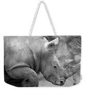 Rhino Profile Weekender Tote Bag