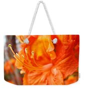 Rhodies Art Prints Orange Rhododendron Flowers Baslee Troutman Weekender Tote Bag