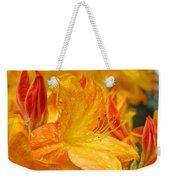 Rhodies Orange Yellow Rhododendrons Art Prints Canvas Baslee Troutman Weekender Tote Bag