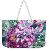 Rhododendron And Lily Of The Valley Weekender Tote Bag