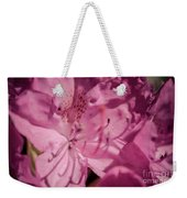Rhododendron-close Up Weekender Tote Bag
