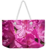Rhododendron-close Up1 Weekender Tote Bag