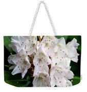 Rhododendron Family Of Flowers Weekender Tote Bag
