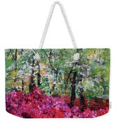 Rhododendron Glade Norfolk Botanical Garden 201821 Weekender Tote Bag