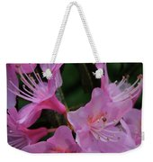 Rhododendron In The Pink Weekender Tote Bag