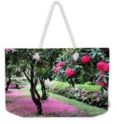 Rhododendrons Blooming Villa Carlotta Italy Weekender Tote Bag