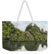 Rhododendrons By The River Weekender Tote Bag