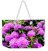 Rhododendrons In Bloom Weekender Tote Bag