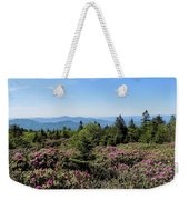 Rhododendron On Roan Mountain Weekender Tote Bag
