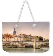 Bridge Over The Rhone River, France Weekender Tote Bag