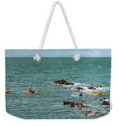 Rhoscolyn Rock Panorama Weekender Tote Bag