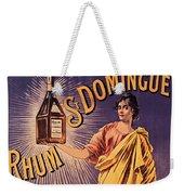 Rhum - Bottle - Earth - Map - Poster - Vintage - Wall Art - Art Print  - Girl  Weekender Tote Bag
