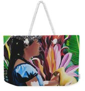 Rhythm Of The Hula Weekender Tote Bag
