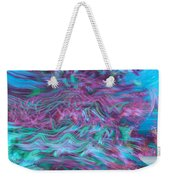 Rhythmic Waves Weekender Tote Bag