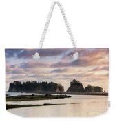 Rialto Beach Sunset On The Pacific Coast In Washington Weekender Tote Bag