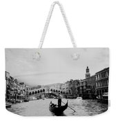 Rialto Bridge In Venice  Weekender Tote Bag