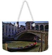 Rialto Bridge In Venice Italy Weekender Tote Bag