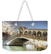 Rialto Bridge Weekender Tote Bag