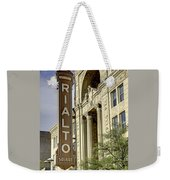 Rialto Theater Weekender Tote Bag